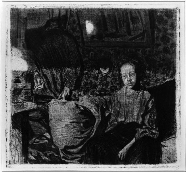 الثنائي الشاب، ١٩٠٤، كايت كولفيتز
