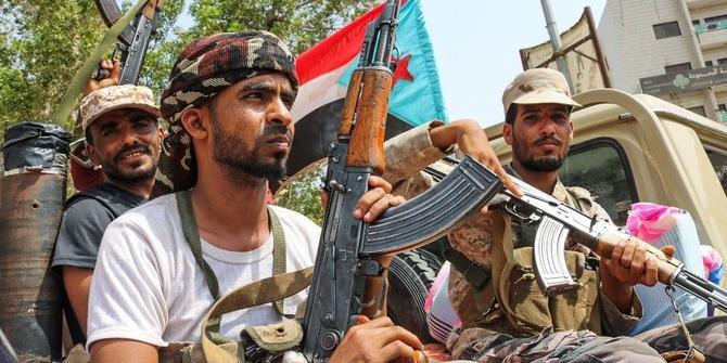 مقاتلو المجلس الانتقالي الجنوبي في عدن